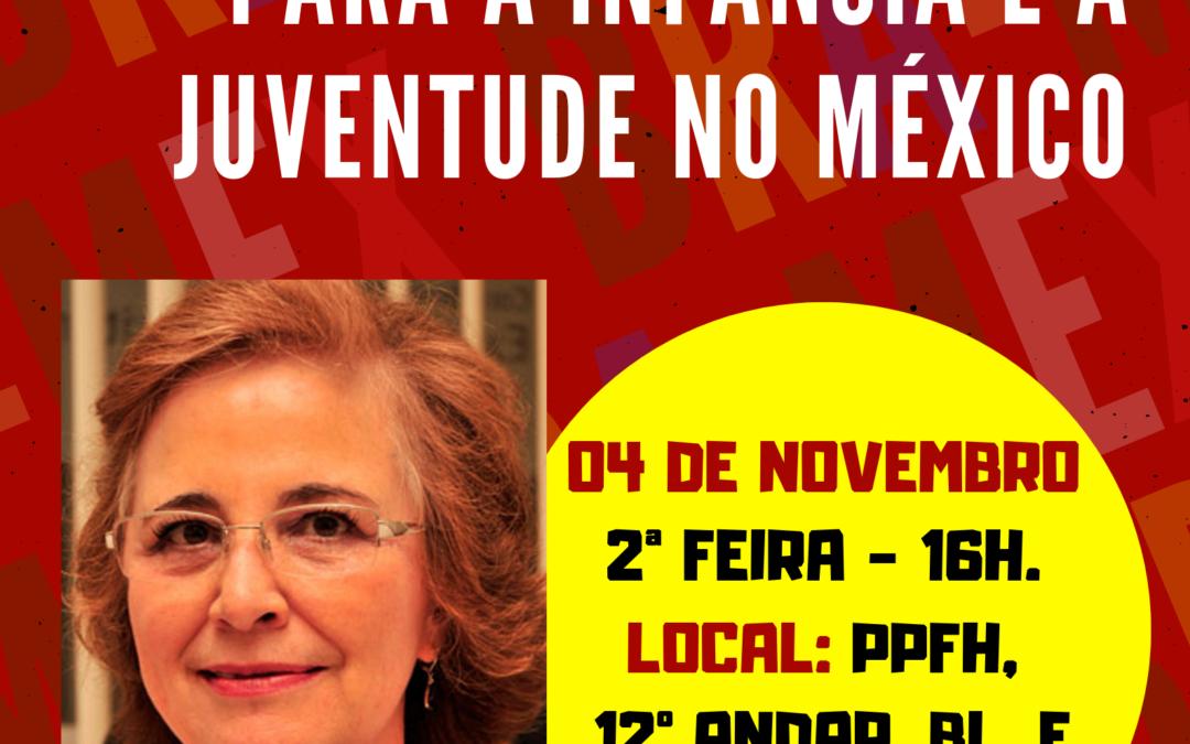 Receberemos a professora Norma del Río para uma conferência em novembro